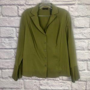 Apostrophe Button Down blouse